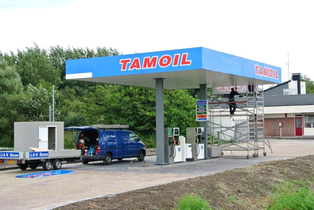 Werkzaamheden Tamoil tankstations