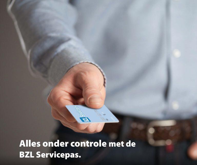 Alles onder controle met de BZL Servicepas