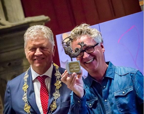 Mart Franken ontving de Cultuurprijs in 2017.