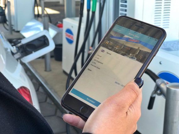Ease2pay - zakelijke tank app