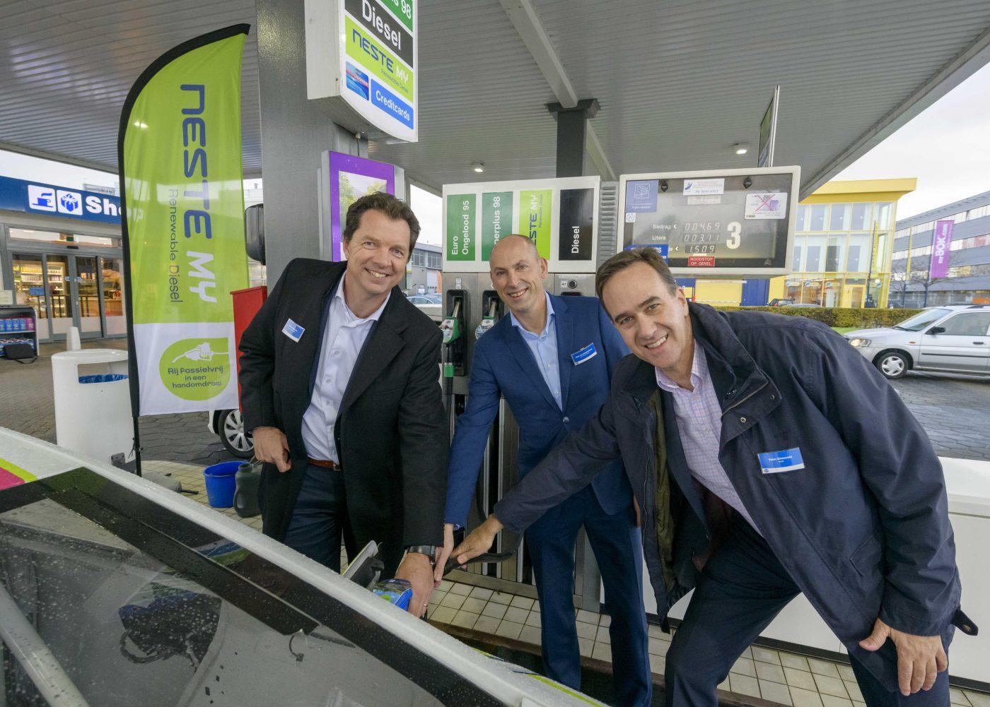 Tamoil zet verder in op fossielvrije diesel met Neste MY Renewable Diesel